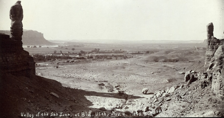Historic Photo Retake: Valley of the San Juan, 1895
