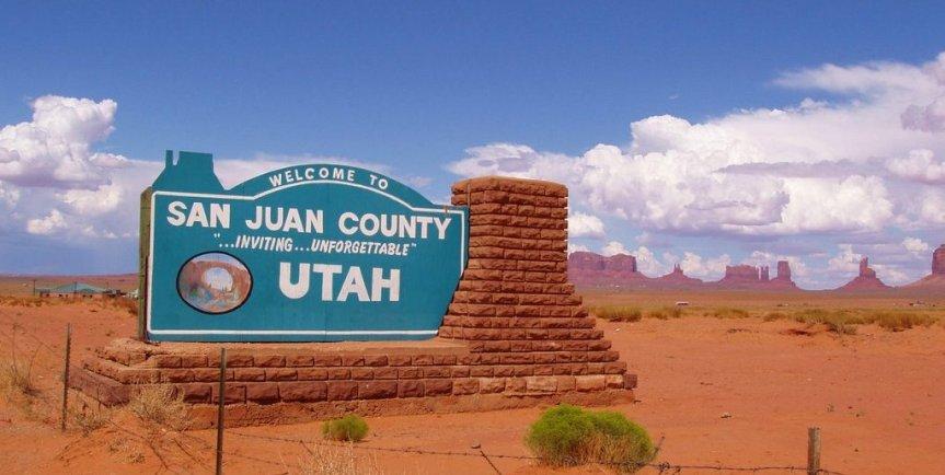 San Juan County Commissioner Bruce Adams Asks The Utah Legislature To Contribute $1.5 Million Toward The County's LegalExpenses
