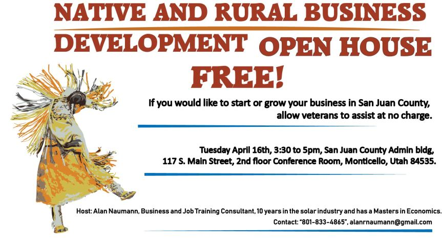 Event: Native and Rural Business Development OpenHouse