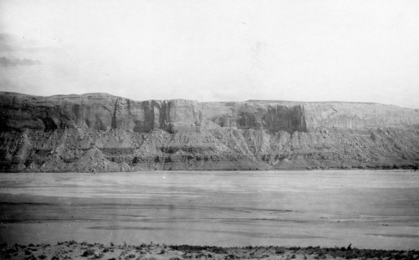 Historic Photo Retake: San Juan River near Bluff, 1925