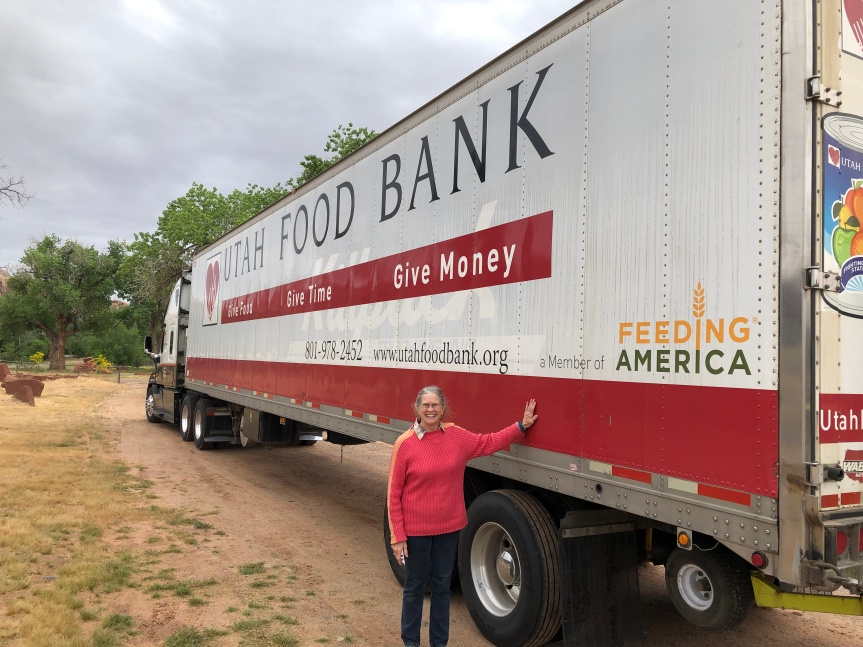 Food Bank Truck To Make Monthly Stops In Bluff,UT